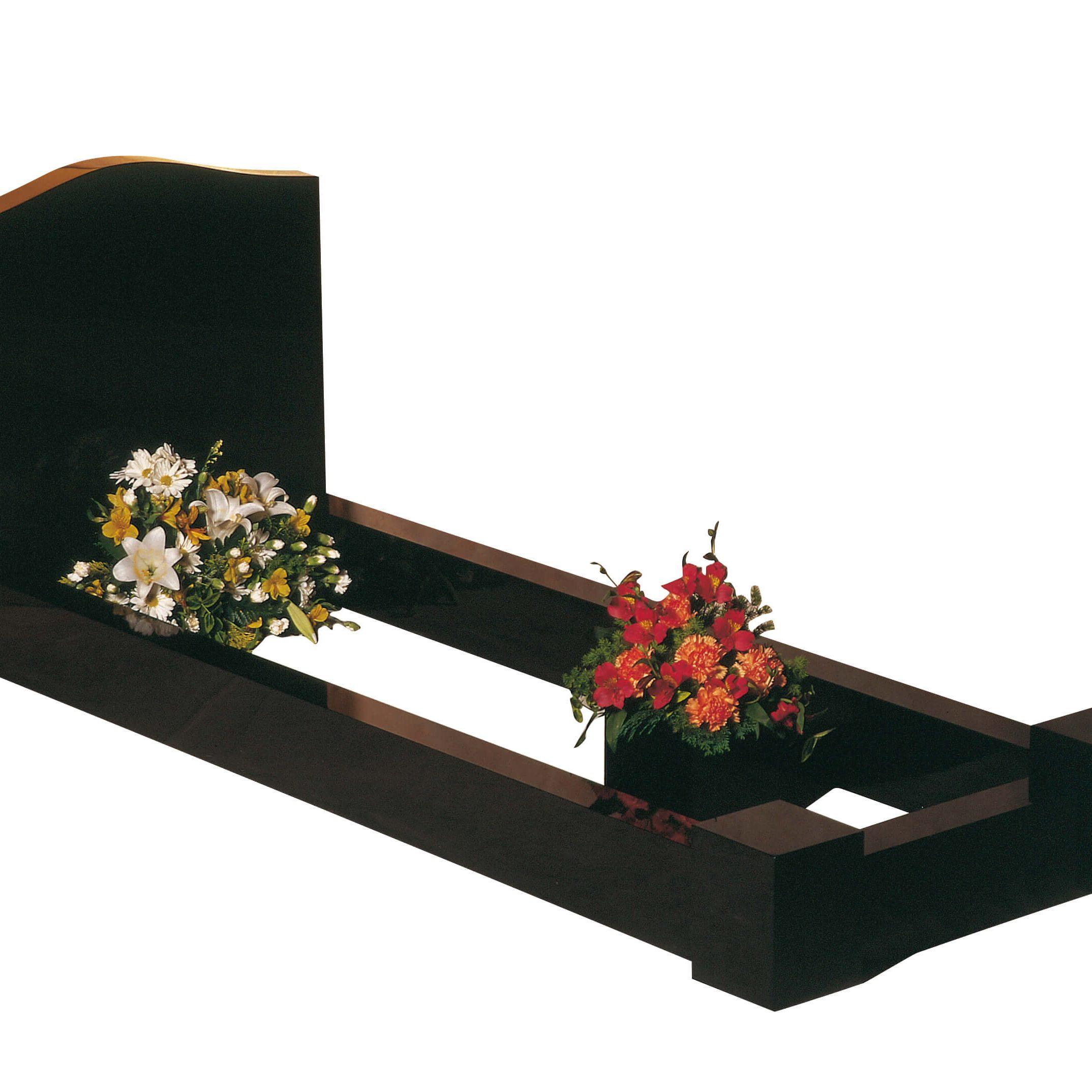 Cemetery Kerb Set Memorial - Cat No: EC100