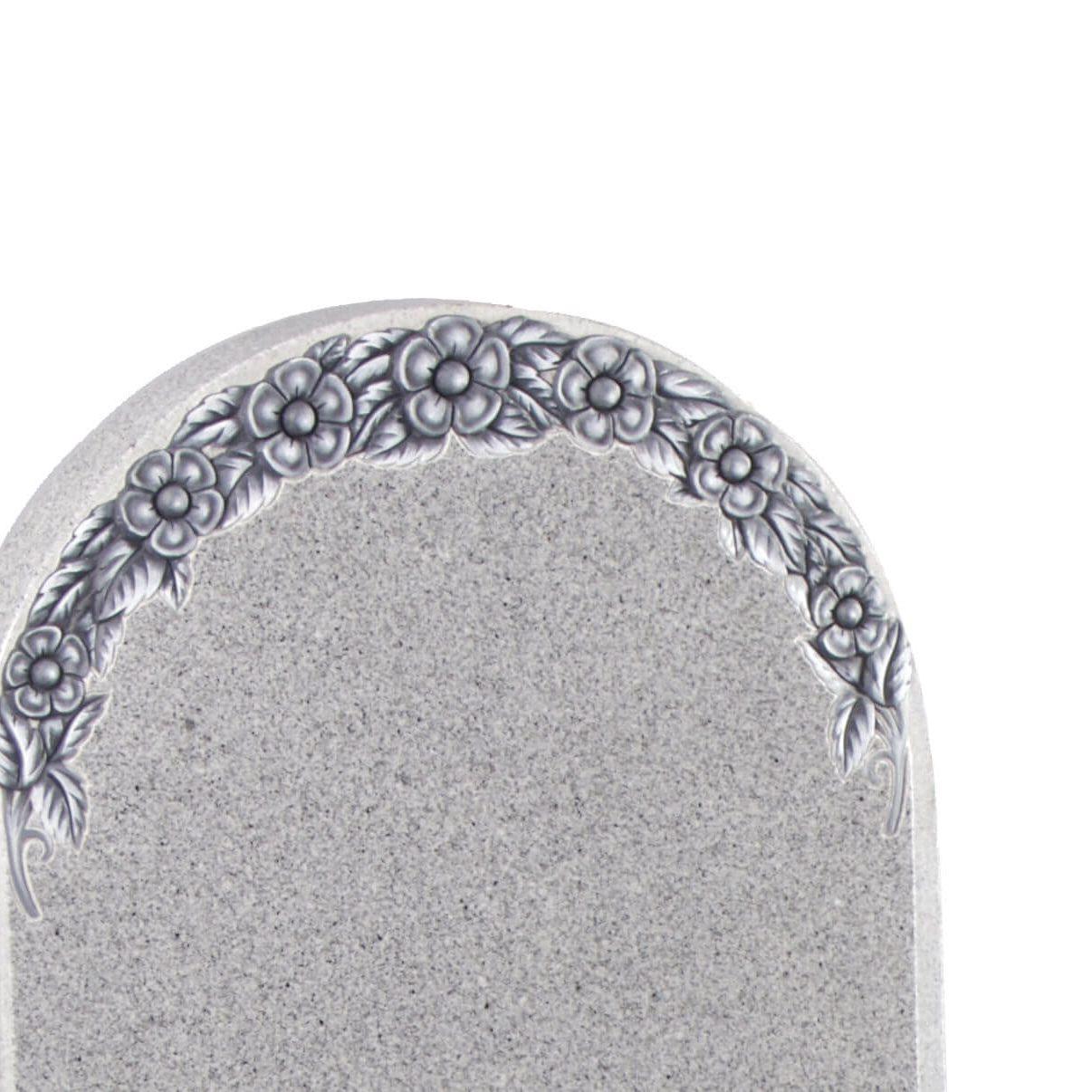 Cemetery Kerb Set Memorial - Cat No: EC109- detail