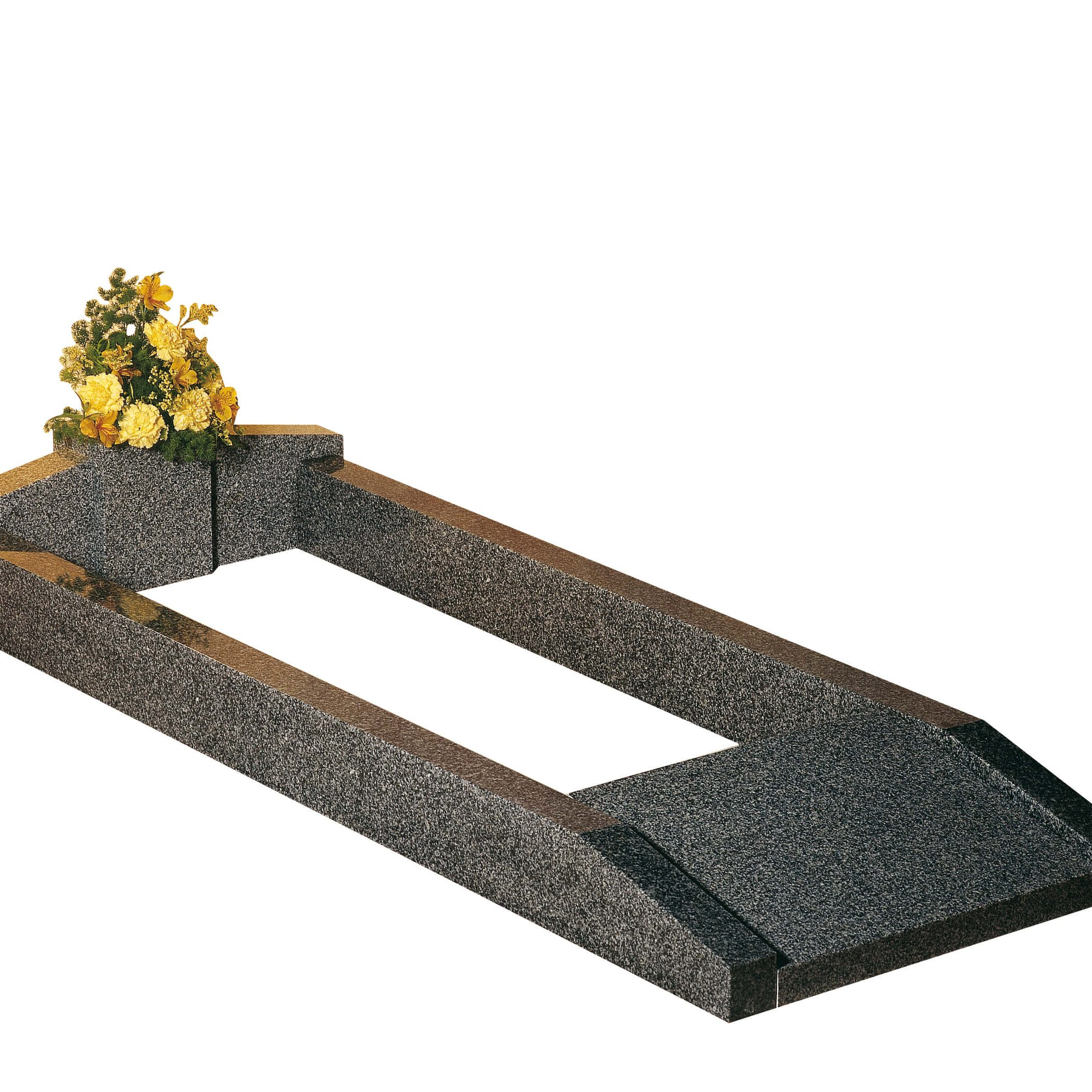 Cemetery Kerb Set Memorial - Cat No: EC112