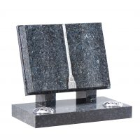Booked Shaped Memorial-Cat No= EC130