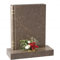 Book Shaped Memorial - Cat No:EC139