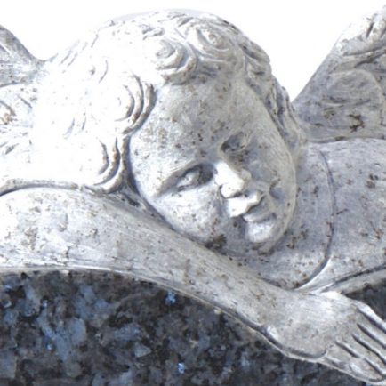 Children's Memorial - Cat No: EC221 cherub- Stephen P Gay Memorials Gravesend, Kent