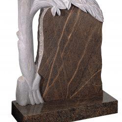 Rustic & Hand Carved Memorials - Cat No: EC74