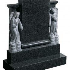 Rustic & Hand Carved Memorials - Cat No: EC87